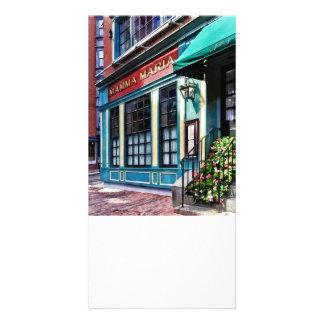 Boston mA - Restaurant de North End Photocarte Customisée