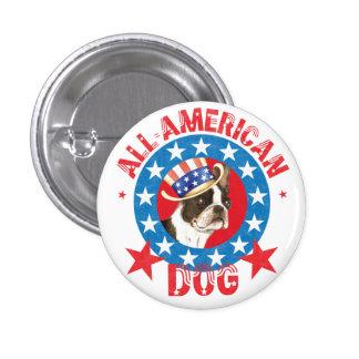 Boston patriotique Terrier Badges