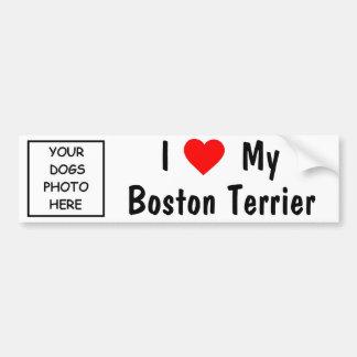Boston Terrier Autocollant Pour Voiture