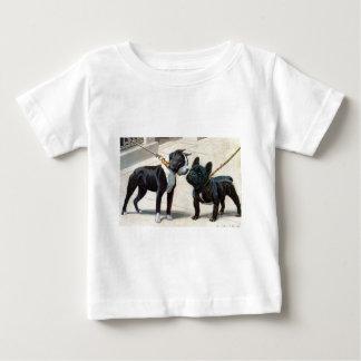 Boston Terrier et bouledogue français T-shirt Pour Bébé