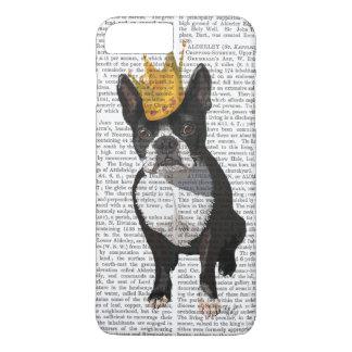 Boston Terrier et couronne Coque iPhone 8 Plus/7 Plus