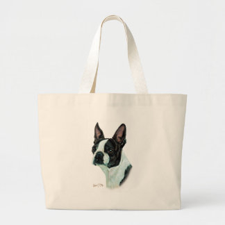 Boston Terrier Grand Sac