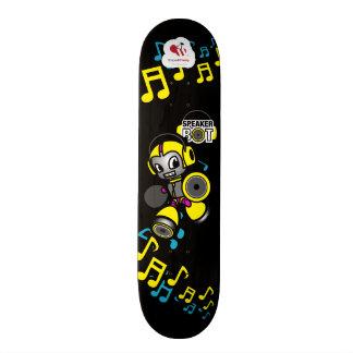 Bot de haut-parleur - type de planche à roulettes skateboard