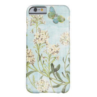 Botanique bleu coque iPhone 6 barely there