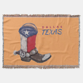 Botte de cowboy de Dallas le Texas Couverture
