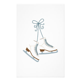 Bottes de patinage papier à lettre customisé