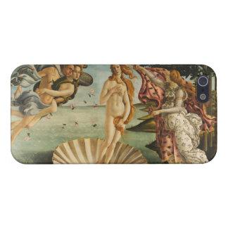 Botticelli la naissance du cas de l'iPhone 5 de Vé Étui iPhone 5