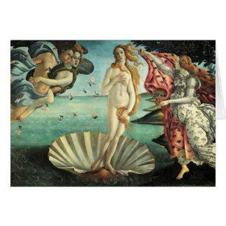Botticelli - naissance de Vénus Cartes