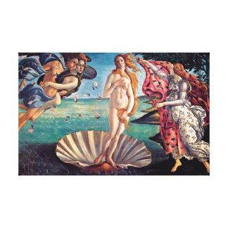 Botticelli - naissance de Vénus Impressions Sur Toile