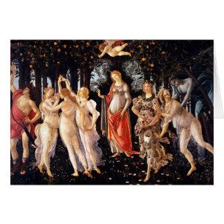 BOTTICELLI - Primavera 1482 Cartes