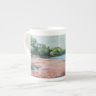 Bouche de crique de Lynde - tasse de porcelaine
