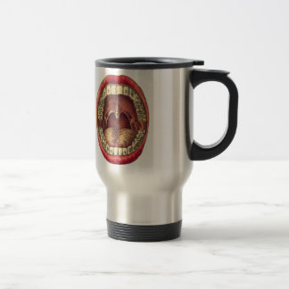 Bouche vintage mug de voyage