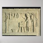 Boucher romain, soulagement posters