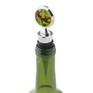 Bouchon de vin de chrome bouchon à vin