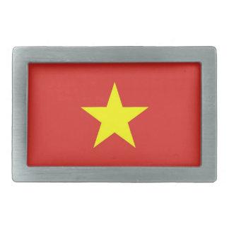 Boucle de ceinture avec le drapeau du Vietnam