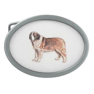 Boucle de ceinture de chien de St Bernard