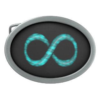 Boucle de ceinture de symbole d'infini