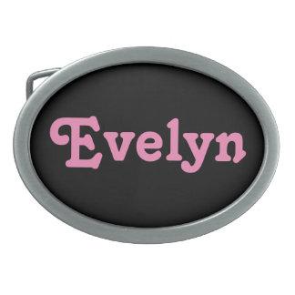 Boucle de ceinture Evelyn