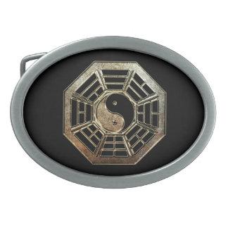 Boucle de ceinture ovale de Yin Yang Bagua