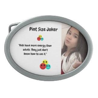 Boucle De Ceinture Ovale Joker de taille de pinte : Énergie d'enfant et