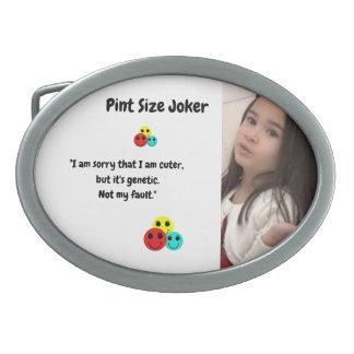 Boucle De Ceinture Ovale Joker de taille de pinte : Gentillesse génétique