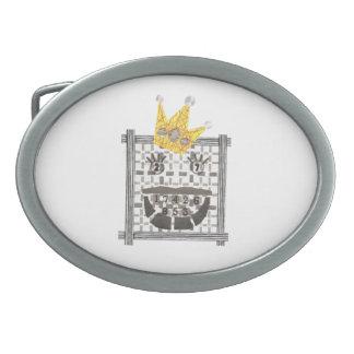 Boucle De Ceinture Ovale Le Roi Sudoku Buckle