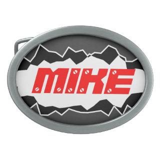 Boucle de ceinture personnalisée avec le nom fait