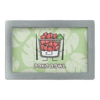 Boucle De Ceinture Rectangulaire Aku de baguettes de salade de poisson cru d'Hawaï