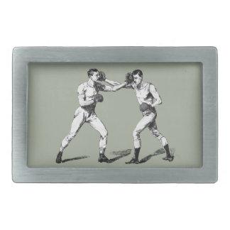 Boucle De Ceinture Rectangulaire Boxe vintage