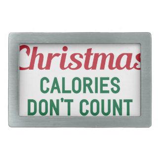 Boucle De Ceinture Rectangulaire Calories de Noël