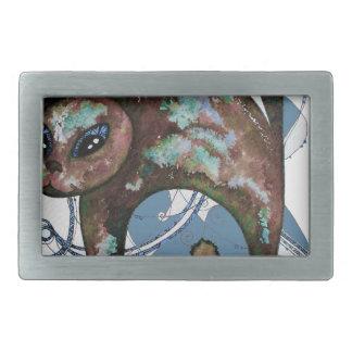 Boucle De Ceinture Rectangulaire Chat de myrtille