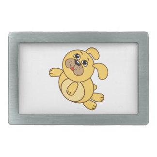 Boucle De Ceinture Rectangulaire chien mignon 1