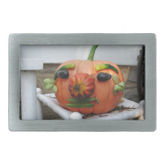 Boucle De Ceinture Rectangulaire Citrouille