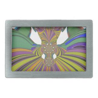 Boucle De Ceinture Rectangulaire Copie de couleurs contemporaine de conception