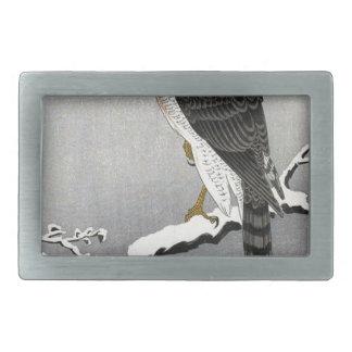 Boucle De Ceinture Rectangulaire Copie japonaise vintage d'oiseau