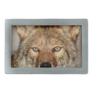 Boucle De Ceinture Rectangulaire de coyote fin