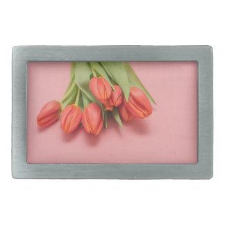 Boucle De Ceinture Rectangulaire fleur