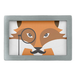 Boucle De Ceinture Rectangulaire Fox orange