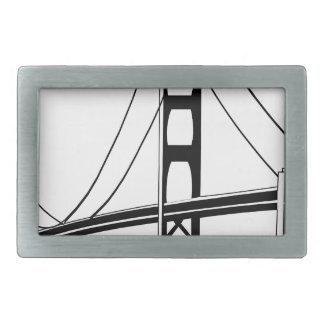 Boucle De Ceinture Rectangulaire Golden Gate San Francisco