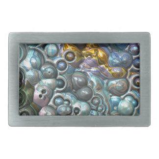 Boucle De Ceinture Rectangulaire Groupes 3D colorés