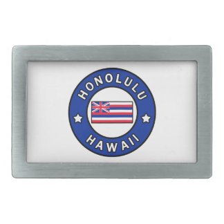 Boucle De Ceinture Rectangulaire Honolulu Hawaï