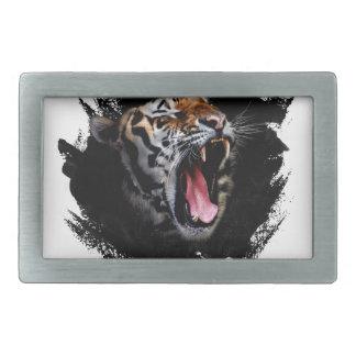 Boucle De Ceinture Rectangulaire Hurlement de tigre