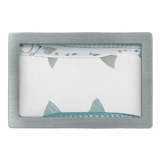 Boucle De Ceinture Rectangulaire Illustration de barracuda