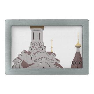 Boucle De Ceinture Rectangulaire Illustration de cathédrale