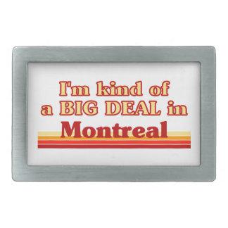 Boucle De Ceinture Rectangulaire Je suis un peu une affaire à Montréal