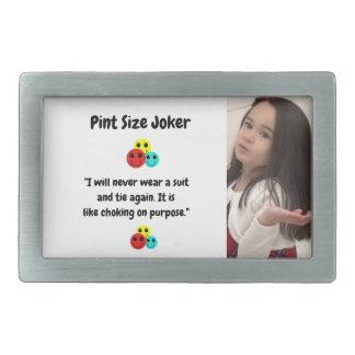 Boucle De Ceinture Rectangulaire Joker de taille de pinte : Obstruction sur le