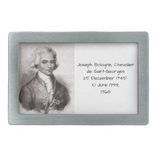 Boucle De Ceinture Rectangulaire Joseph Bologne, Chevalier de Saint-Georges