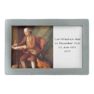 Boucle De Ceinture Rectangulaire Karl Friedrich Abel