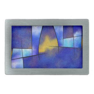 Boucle De Ceinture Rectangulaire Kefharia V1 - vision cubique