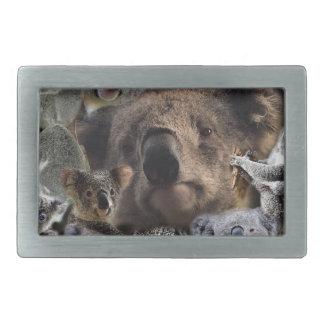Boucle De Ceinture Rectangulaire Koala heureux